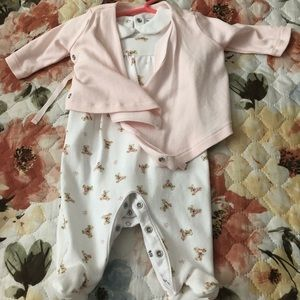 Three piece Ralph Lauren set baby girl 3 months